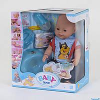 Пупс функциональный, 8 функций, с аксессуарами, в коробке Baby Love BL 034 D