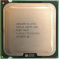 Процессор Intel Core 2 Quad Q9550 E0 SLB8V 2.83GHz 12M Cache 1333 MHz FSB Socket 775 Б/У