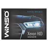 Комплект биксенона WINSO H4 4300K 35W Slim Ballast 744430