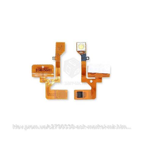 Шлейф для Nokia 6111 Original Кнопки регулировки громкости, вспышка, фото 2