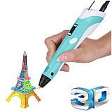 3D ручка MyRiwell с LED дисплеем 3д ручка для детей + наклейки в подарок, фото 4