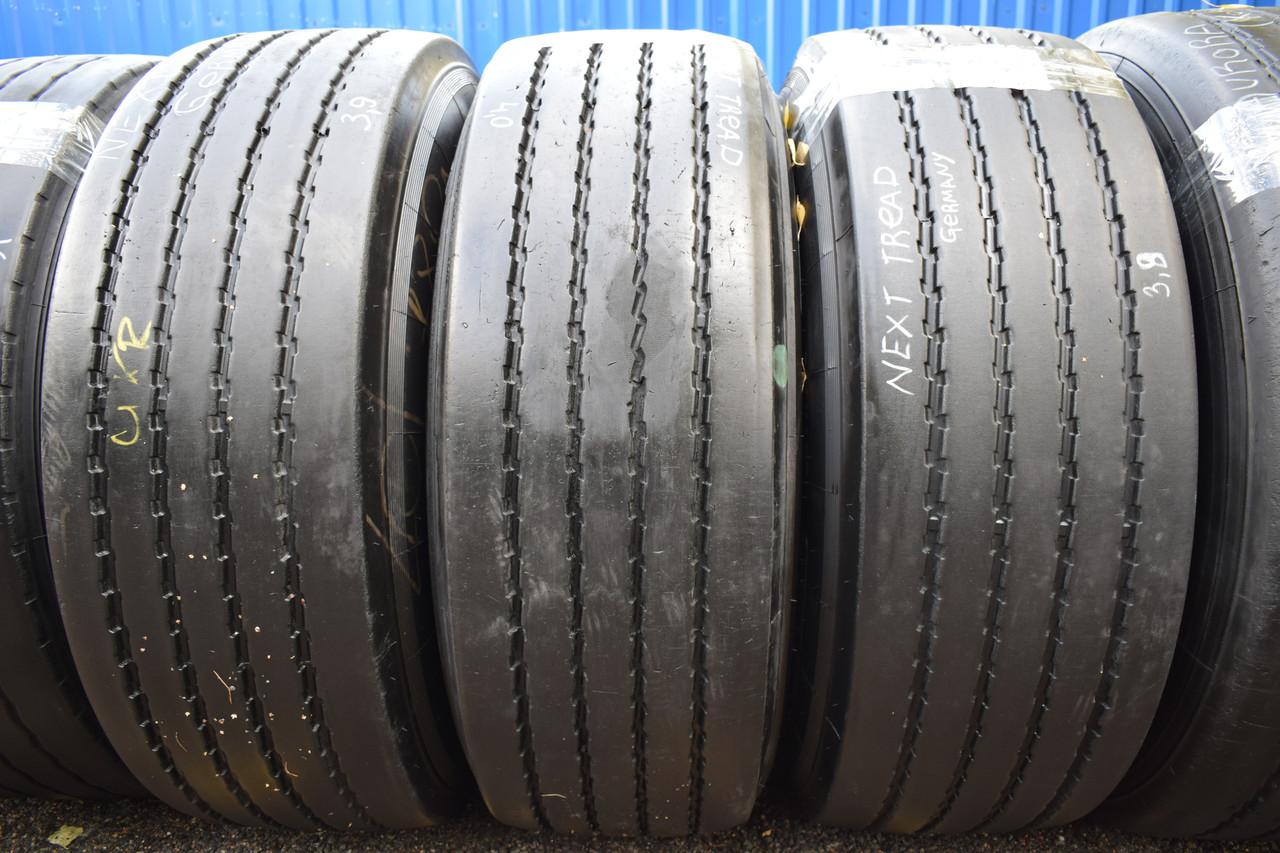 Вантажні шини б/у 385/65 R22.5 Next Tread NT RHT, 10/12 мм, пара+одна