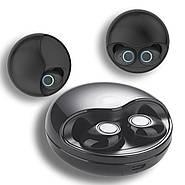 Наушники беспроводные Wi-pods K10 черные: распаковка