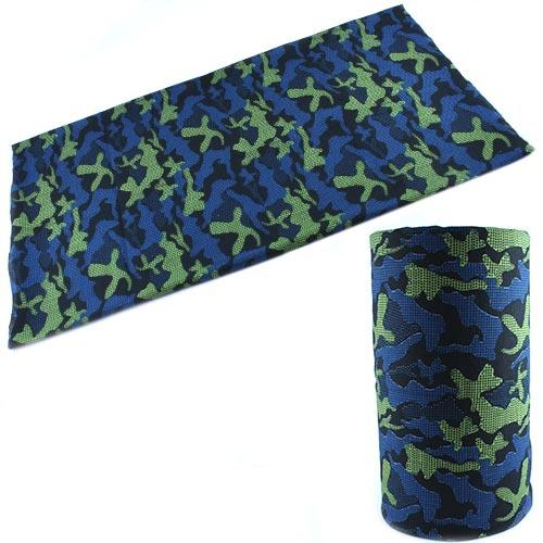 Бафф бандана-трансформер, шарф из микрофибры, камуфляж