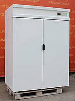 Холодильный промышленный шкаф глухой «Polair 114-S» полезный объём 1400 л. (Россия), LED - подсветка, Б/у, фото 1