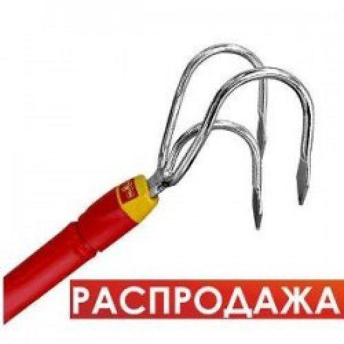 Культиватор ручной с алюминиевой ручкой 1,5 м. Wolf Garten BE-F