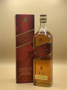Виски Johnnie Walker Red Label 1L Джонни Уокер Ред Лейбл 1л