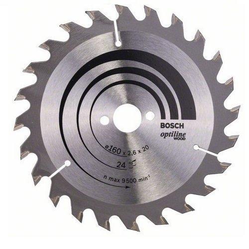 Диск пильный Bosch Optiline Wood 190 Z48