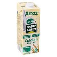 Молоко органическое растительное рисовое с кальцием без сахара Natur Green 200 мл