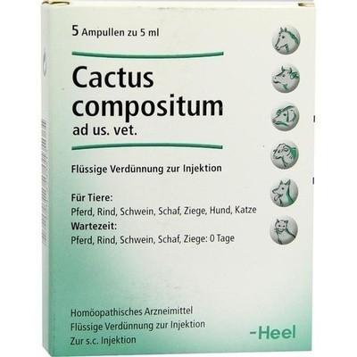 КАКТУС КОМПОЗИТУМ ХЕЕЛЬ CACTUS COMPOSITUM HEEL средство для сердечно-сосудистой системы, 5 мл