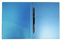 Папка-скоросшиватель А4 пластиковая с металлическими усами 213/333 + карман