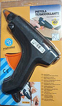Пистолет для термо клея (1.1см 40W) без кнопки, ЧЕРНЫЙ IMG4817