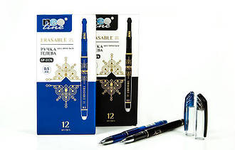 Ручка «пишет-стирает» гелевая черная с резинкой Neoline GP-3176