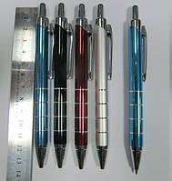Ручка шариковая автоматическая BAIXIN BP711 металл (цветной микс)