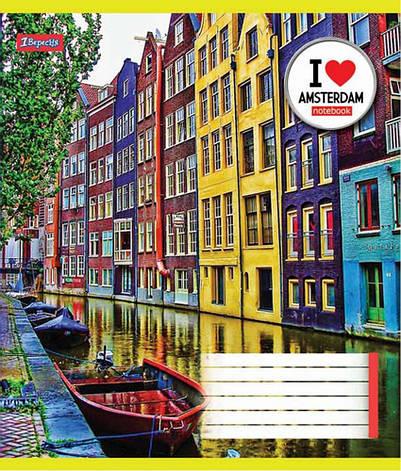 "Тетрадь 24 линия ""1 Вересня"" Амстердам, фото 2"