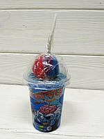 Леденец чупа чупс мозги Zombie brain lollipops 75гр (КНР)