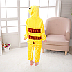 Пижама детская кигуруми Пикачу Pokemon Pikachu Желтый 122 см, фото 4