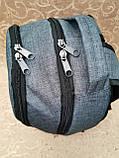 Рюкзак спортивный FILA мессенджер Хорошее качество ткань катион матовый городской, фото 2