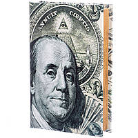 Книга-сейф на ключе 100 долларов 26*17*5 см (020UE)