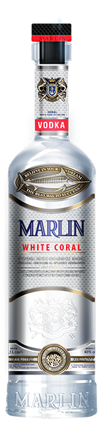 Водка Marlin White Coral / Белый коралл 0.7л