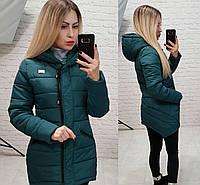 Куртка парка зима арт. 204 аквамарин