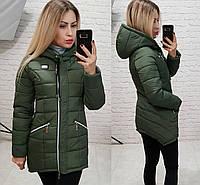 Куртка парка зима арт. 204 хаки