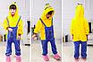 Пижама миньон детская кигуруми Желтая 122 см, фото 2