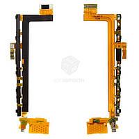 Шлейф для Sony Xperia Z5 Premium Dual (E6833, E6883), Xperia Z5 Premium E6853 Original Кнопки регулировки громкости, кнопка включения, кнопка камеры,