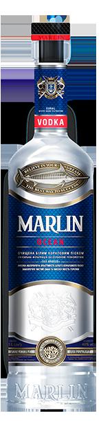 Водка Marlin Ocean / Океан 0.7л