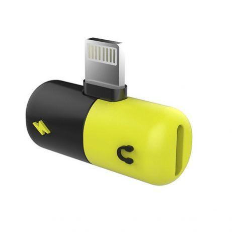 Переходник iPhone5/6 для зарядки и наушников (2в1) LIGHTING SPLITTER
