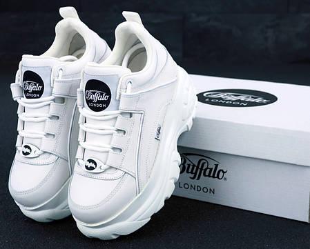 Женские кроссовки Buffalo London White . ТОП Реплика ААА класса., фото 2