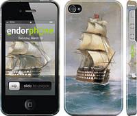 "Чехол на iPhone 4s Айвазовский. Корабли ""160c-12"""