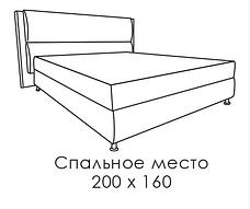 Кровать Ника, фото 3