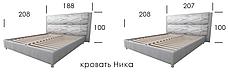 Кровать Ника, фото 2