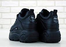Женские кроссовки Buffalo London Black. ТОП Реплика ААА класса., фото 3