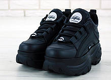 Женские кроссовки Buffalo London Black. ТОП Реплика ААА класса., фото 2