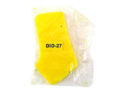 Елемент повітряного фільтра HONDA DIO AF-27/28 просочений (ЖОВТИЙ)