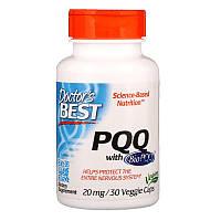 "Пирролохинолинхинон Doctor's Best ""PQQ with BioPQQ"" 20 мг, защита нервной системы (30 капсул)"