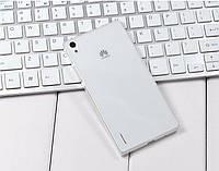Ультратонкий 0,3 мм чехол для Huawei Ascend P7 прозрачный