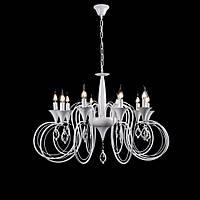 Классическая люстра-свеча на 10 лампочек СветМира VL-41300/10 (WT)