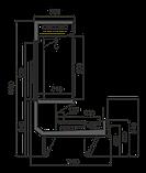 Холодильная витрина для мяса MISSOURI COLD DIAMOND MC 115 CRYSTAL COMBI S M/A, фото 4