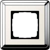 Рамка Gira ClassiX 1 п., хром кремовый (0211643)