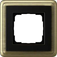 Рамка Gira ClassiX 1 п., бронза черный (0211622)
