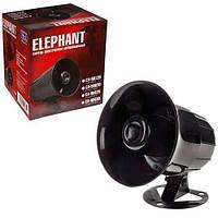 Сирена для автосигнализации, сирена звуковая 6 тон, сигнализационная сирена 20Вт.