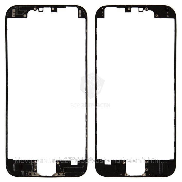 Рамка крепления дисплея для Apple iPhone 6 Original Black
