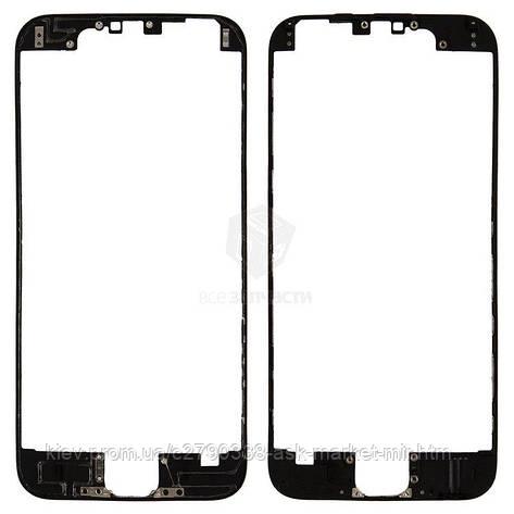 Рамка крепления дисплея для Apple iPhone 6 Original Black, фото 2