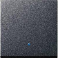 Накладка диммера Gira System 55 System 2000, сенсорна, антрацит (226128)