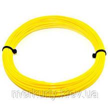 Нить PLA пластика для 3Д ручки 10м, 20 цветов, стержень для 3D ручки Жёлтый