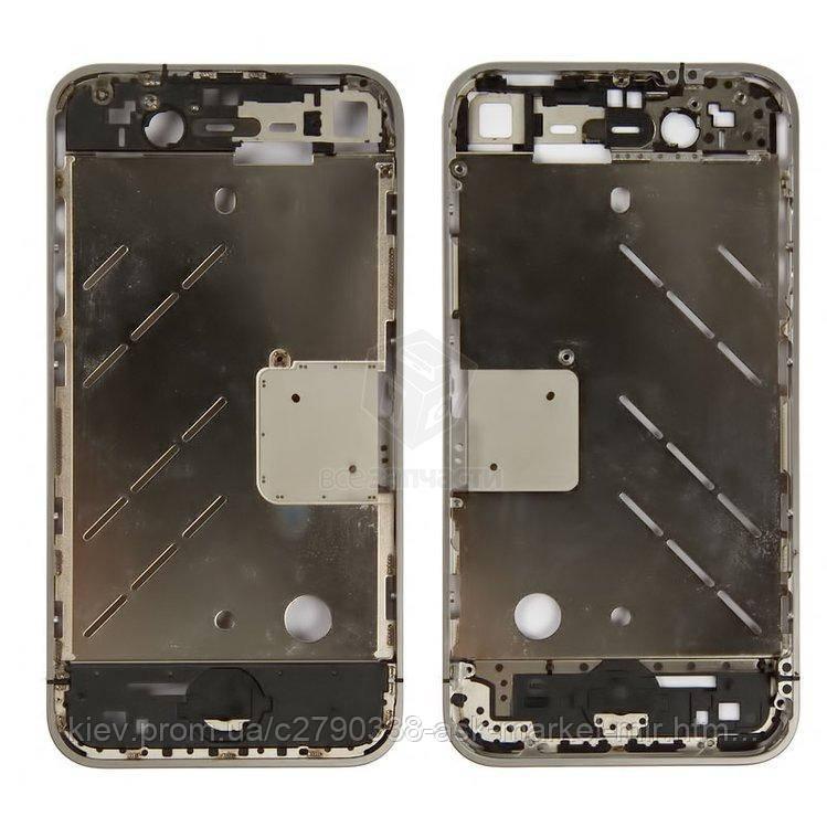 Средняя часть корпуса для Apple iPhone 4 Original Пустая