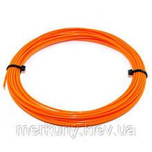 Нить PLA пластика для 3Д ручки 10м, 20 цветов, стержень для 3D ручки Оранжевый